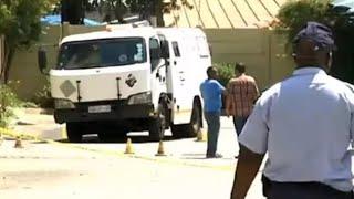 Fidelity cash heist in Pretoria North WonderPark | Video taken from a car