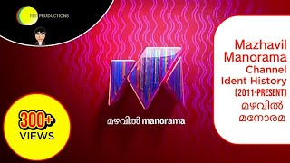 Mazhavil Manorama Channel Ident History (2011-Present) | RBD Official