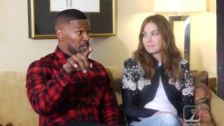 Jamie Foxx on Michelle Monaghan knocking his damn teeth out | SLEEPLESS MOVIE