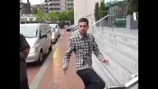 Hip-Hop street magician Dynamo shows his unbelievable magic card trick. Dynamo Magician Impossible.