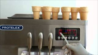 Protelex ice cream machine english