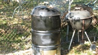 How to Make a Smoker Build a Barbecue