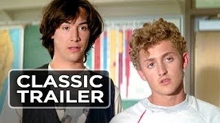 Bill & Ted's Excellent Adventure Official Trailer #1 - Keanu Reeves Movie (1989) HD
