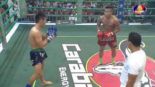 khmer boxing  Chan Rathana VS Va Sangsit ( Thai)  04 06 2017