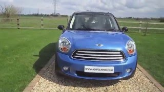 Mini Countryman Cooper Chilli Pack True Blue