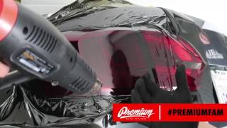How to Tint Taillights with Film