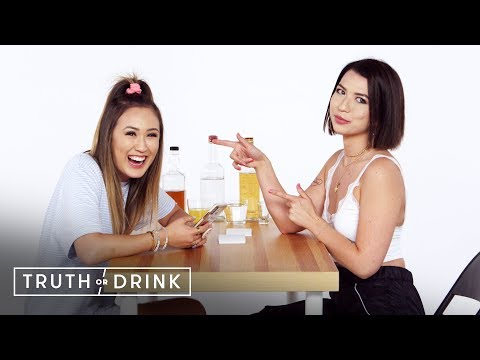 Best Friends Spill the Tea LaurDIY & Mia Sayoko Truth or Drink Cut