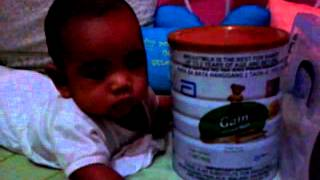 The new endorser of Gain Plus milk for babies