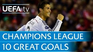 10 great goals from the 2014/15 UEFA Champions League