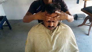 Bihari Head Massage with Neck Cracking (Intense)