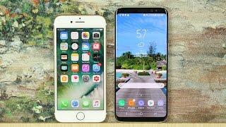 iPhone 7 vs Samsung Galaxy S8: Full Comparison