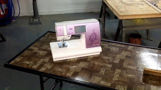 Homemade sewing table for my wife