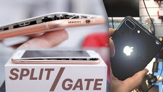 iPhone 8 SplitGate, iPhone X Spotted, Glowing Apple Logo Mod & More News!