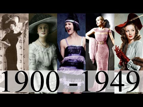 Xxx Mp4 Moda Si Frumusetea In Prima Jumatate A Secolului XX Fashion In The 20th Century Part I 3gp Sex