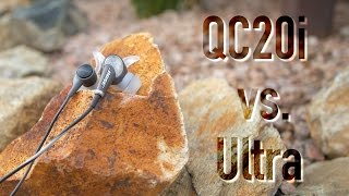 Bose QC20i vs. SoundTrue Ultra Comparison!
