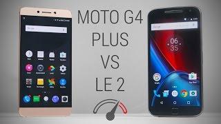 LeEco Le 2 vs Moto G4 Plus Speedtest Comparison