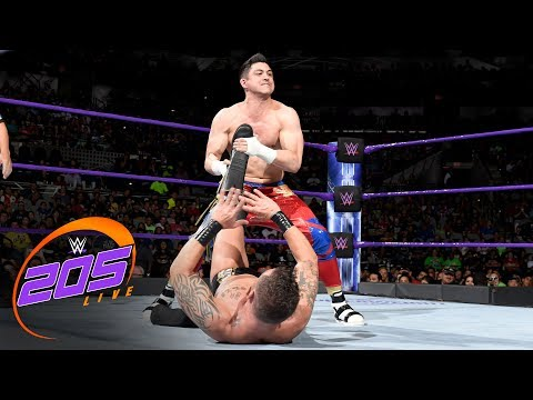TJP beats Mario Connors faster than Rich Swann: WWE 205 Live, July 11, 2017