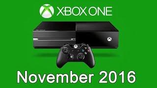 XBOX ONE Free Games - November 2016