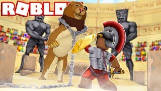 GLADIATOR TRAINING OBBY IN ROBLOX