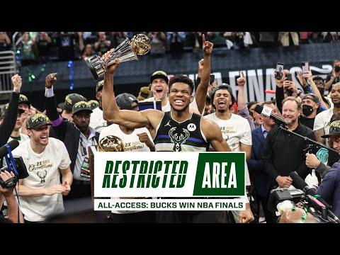 All Access Bucks Win NBA Championship Giannis Drops 50 Points Finals Locker Room Celebration