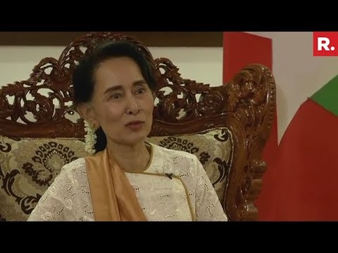 Xxx Mp4 Aung San Suu Kyi On Rohingya Crisis Full Interview 3gp Sex