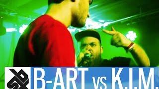 B-ART vs K.I.M.  |  Grand Beatbox 7 TO SMOKE Battle 2016  |  Battle 1