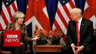 Trump hits out at UK PM Theresa May after far-right video tweets - BBC News