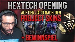 Project Skins werden gejagd! Hextech Opening + Giveaway [League of Legends] [Deutsch / German]