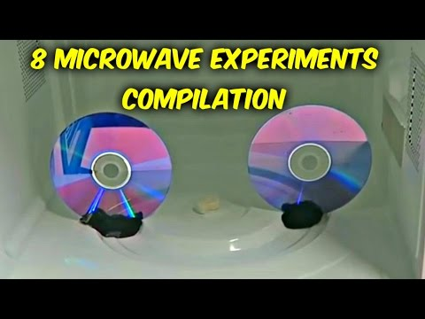 8 Microwave Experiments Compilation