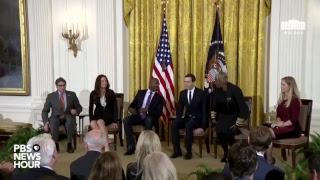 WATCH LIVE: President Trump to speak at White House Prison Reform Summit
