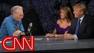 Donald and Melania Trump's 2005 interview as newlyweds (CNN Larry King Live full interview)