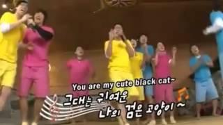 [Kim Jong Kook,HaHaa,Lee Kwang Soo] - Dancing Black Cat (Running Man)