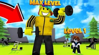 I Trained and Fought The STRONGEST PLAYER in The Game (Roblox Weight Lifting Simulator)