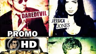 THE DEFENDERS Official Character Promo Trailers (HD) Marvel/Netflix Series