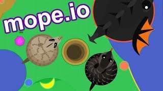 SNAKE ARMY! NEW Cobra and BOA Constrictor! - HUGE NEW Mope.io Update!