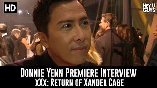 Donnie Yen Premiere Interview - xXx: Return of Xander Cage