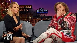 Jennifer Lawrence & James Corden Pitch Apps to T.J. Miller