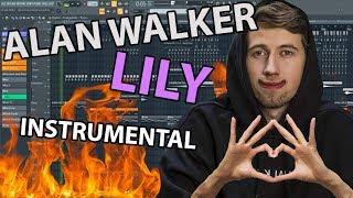 Alan Walker ► Lily (Instrumental by Meraki Grace) // FL STUDIO