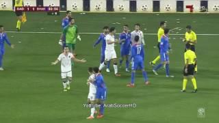 شاهد الاشتباك العنيف الذي حصل في الدوري القطري والذي طرد فيه اربع لاعبين