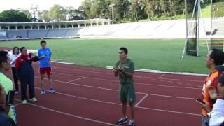 ¡Benjamín Paredes: Clínica de Atletismo para corredores de fondo en Nuestra Capital!