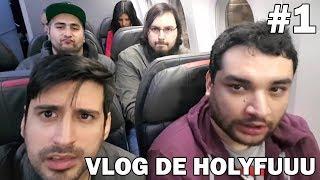 EL VLOG DE HOLYFUN EN LA! #1 en Español - GOTH