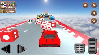 Mainan Mobil Mobilan Superhero Anak Melompat - Superhero Car Stunt - Games Android Terbaru