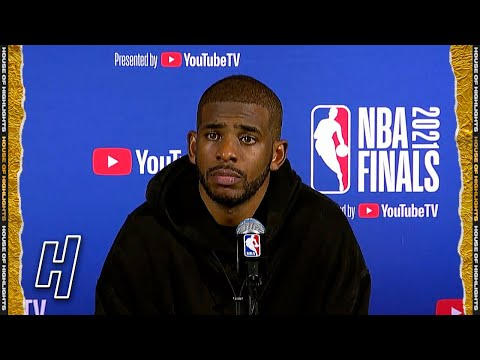 Chris Paul Full Postgame Press Conference Game 6 Suns vs Bucks 2021 NBA Finals