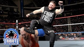 Ryback vs. Kevin Owens: WWE Tribute to the Troops 2015