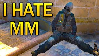 WHY I HATE MATCHMAKING - A CSGO STORY