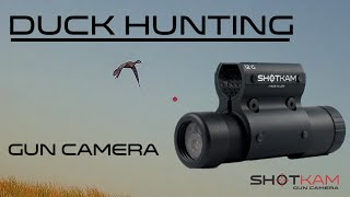Best Duck Hunting Caught on Video – By ShotKam Gun Camera - (Waterproof + Wi-Fi Video Camera)