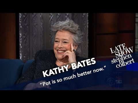 Kathy Bates Never Share A Joint With A Stranger Especially Bill Maher