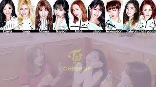 TWICE - CHEER UP MV + Lyrics Color Coded HanRomEng