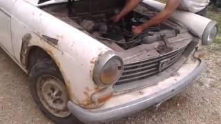 Redémarrage Peugeot 404 Familiale Diesel