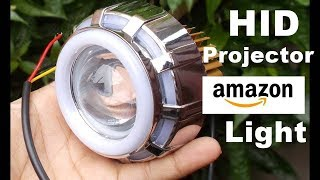 Led Motorcycle Projector Lamp Unboxing And Review Buy From Amazon